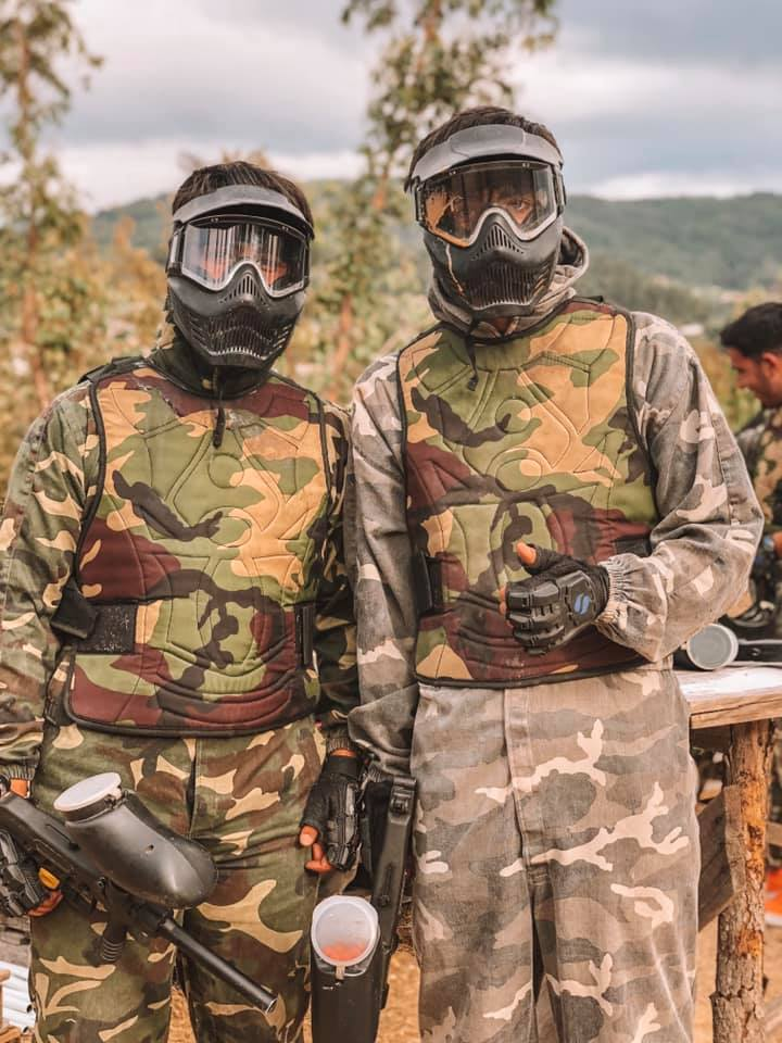 Paintball Equipas